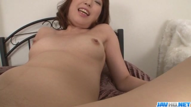 Nonoka Kaede, horny milf, sucks and fucks in POV