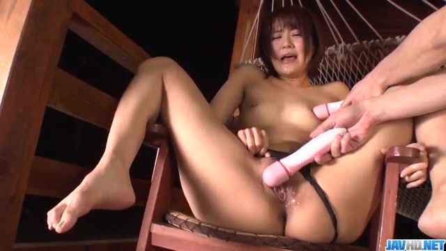 Gorgeous milf, Saya Tachibana, fucked with stiff toys