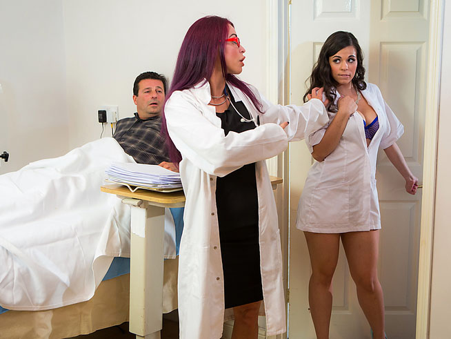 Going HAM On The Nurse