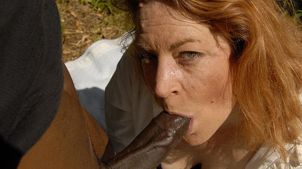 White Girl Takes Black Cock