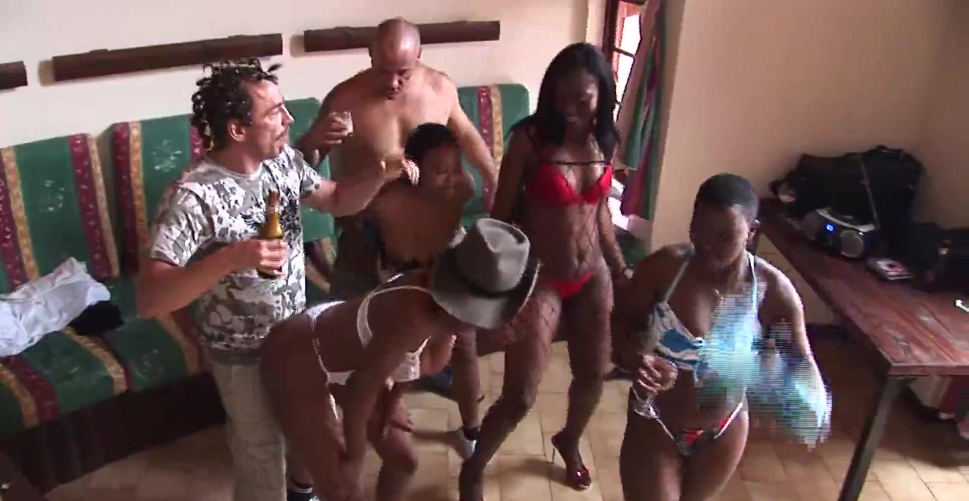 African groupsex safari orgy 5