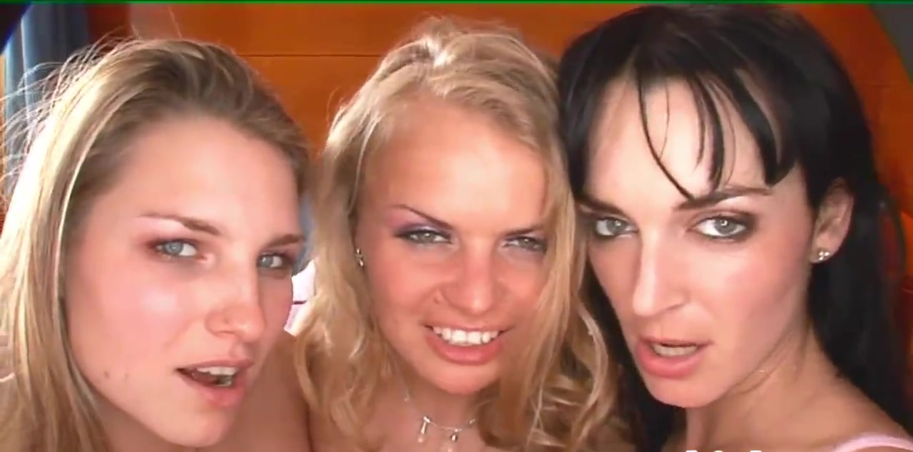 Three lusty bitches have crazy lesbian sex