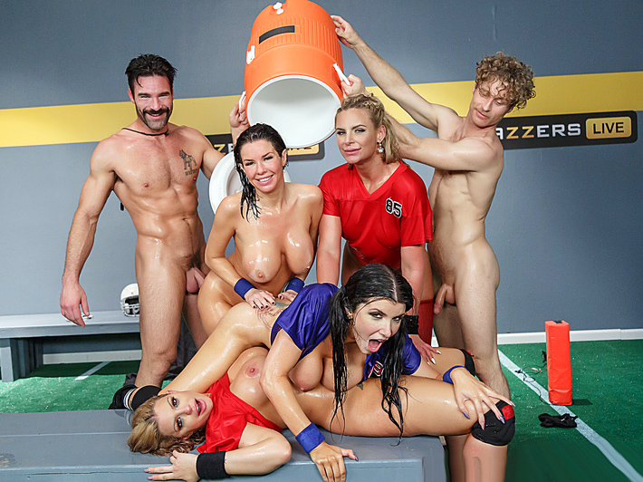Порно шоу от brazzers
