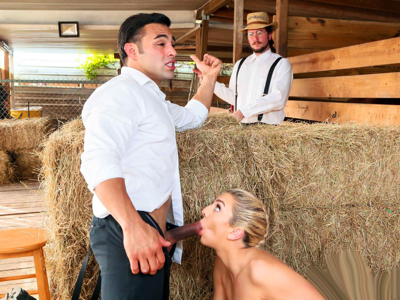 Amish girls go anal