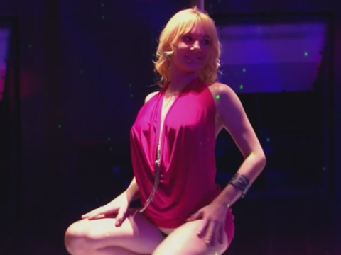 Lap dancing at a very hot swingers party among friends
