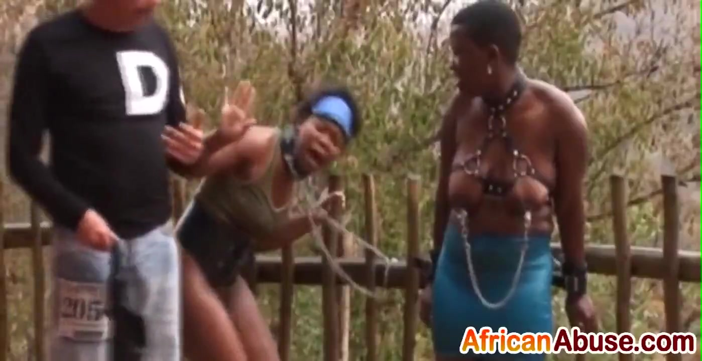 Abused Movies Porn Video ▷ busty african slaves get abusedstuds outdoors