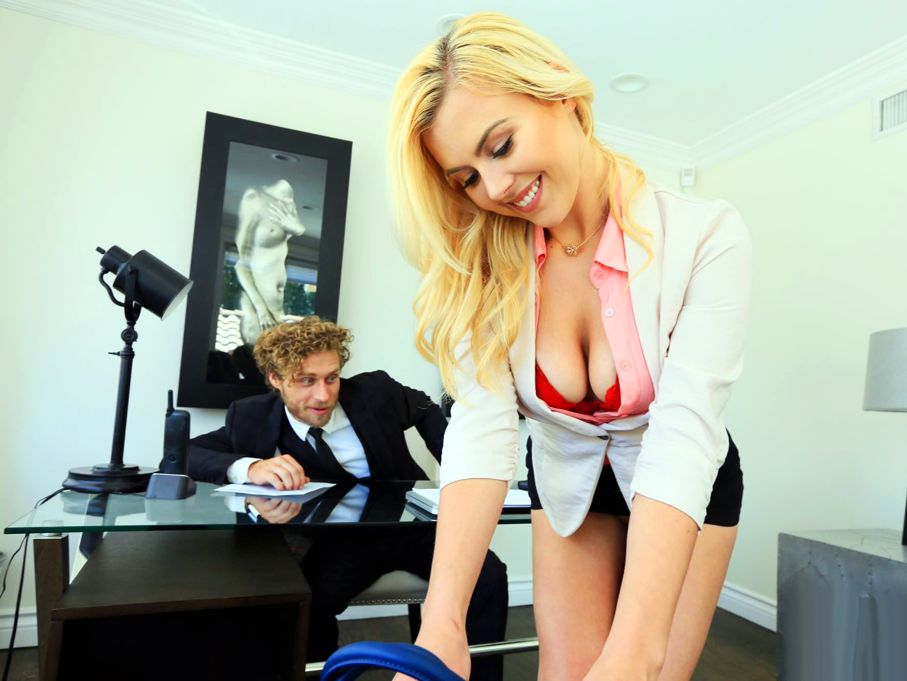 Lets Try Anal – Hot Blonde Fucks Doctor