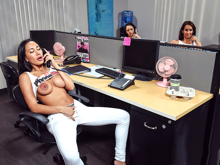 Brazzers Rough Office Sex