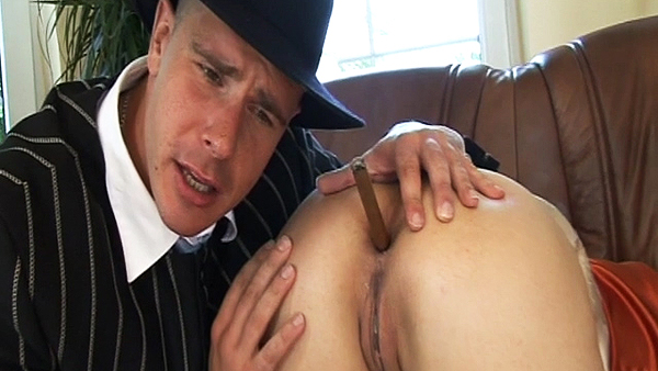 Rich doctor and busty woman scene