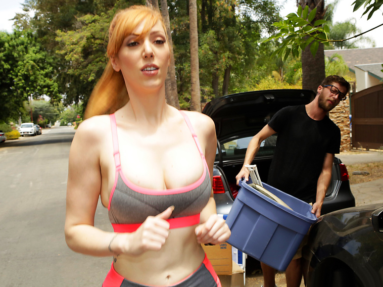 Big Naturals – Moving In On Busty Neighbor