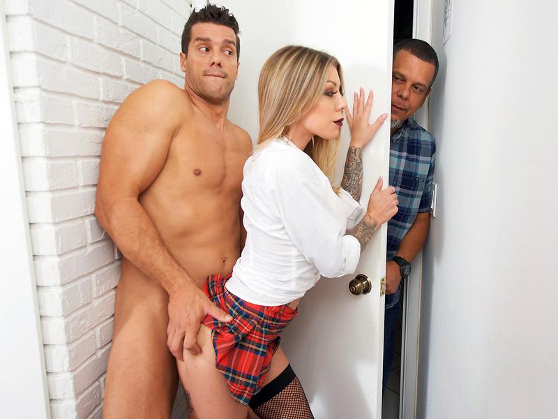 Sneaky Sex - Sneaky Webcam Slut