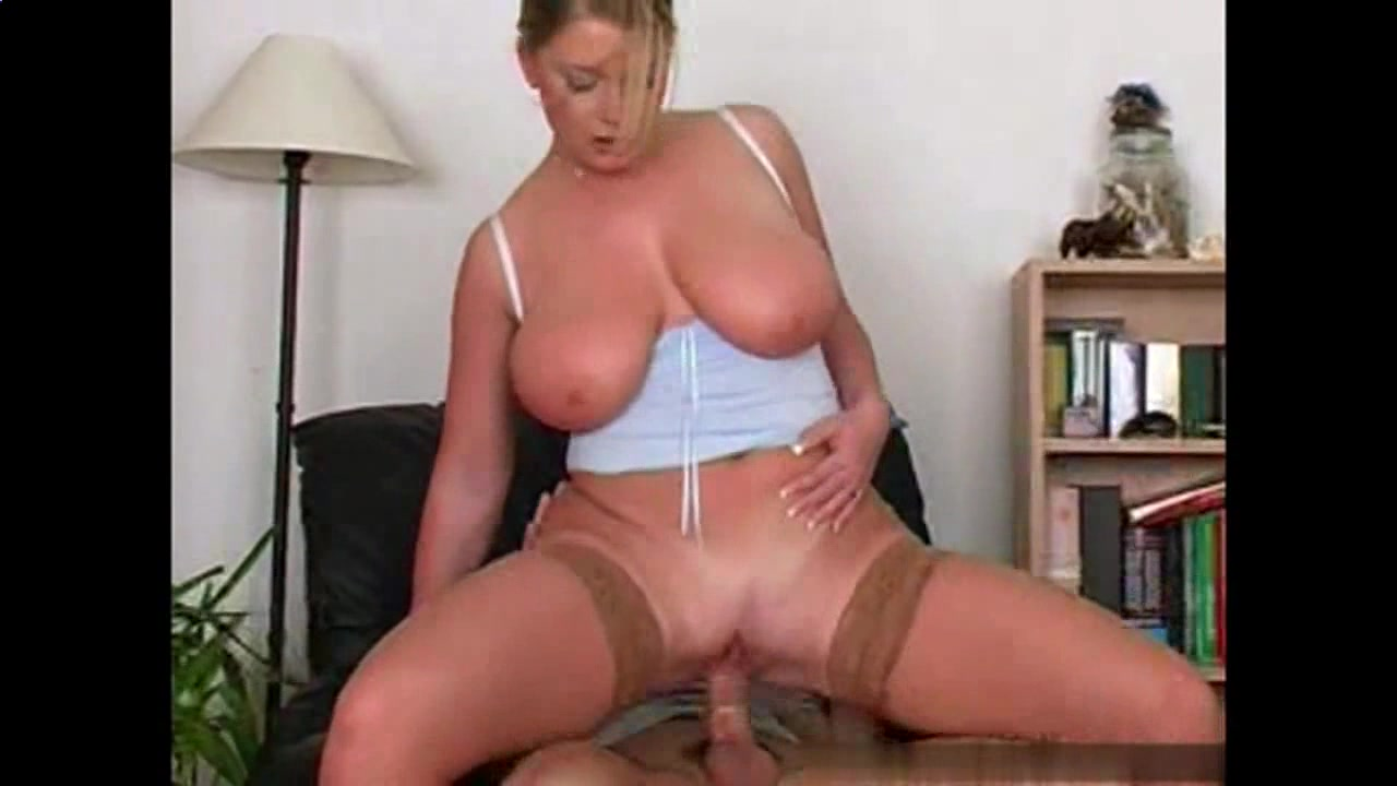 Milf in stockings big ass fucking