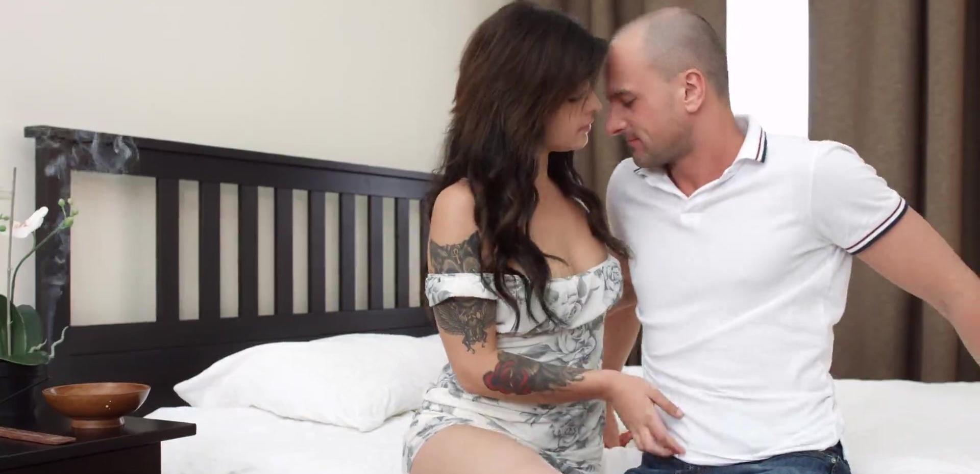 X Sensual Rebecca Rainbow Oiled Up Erotic Surprise