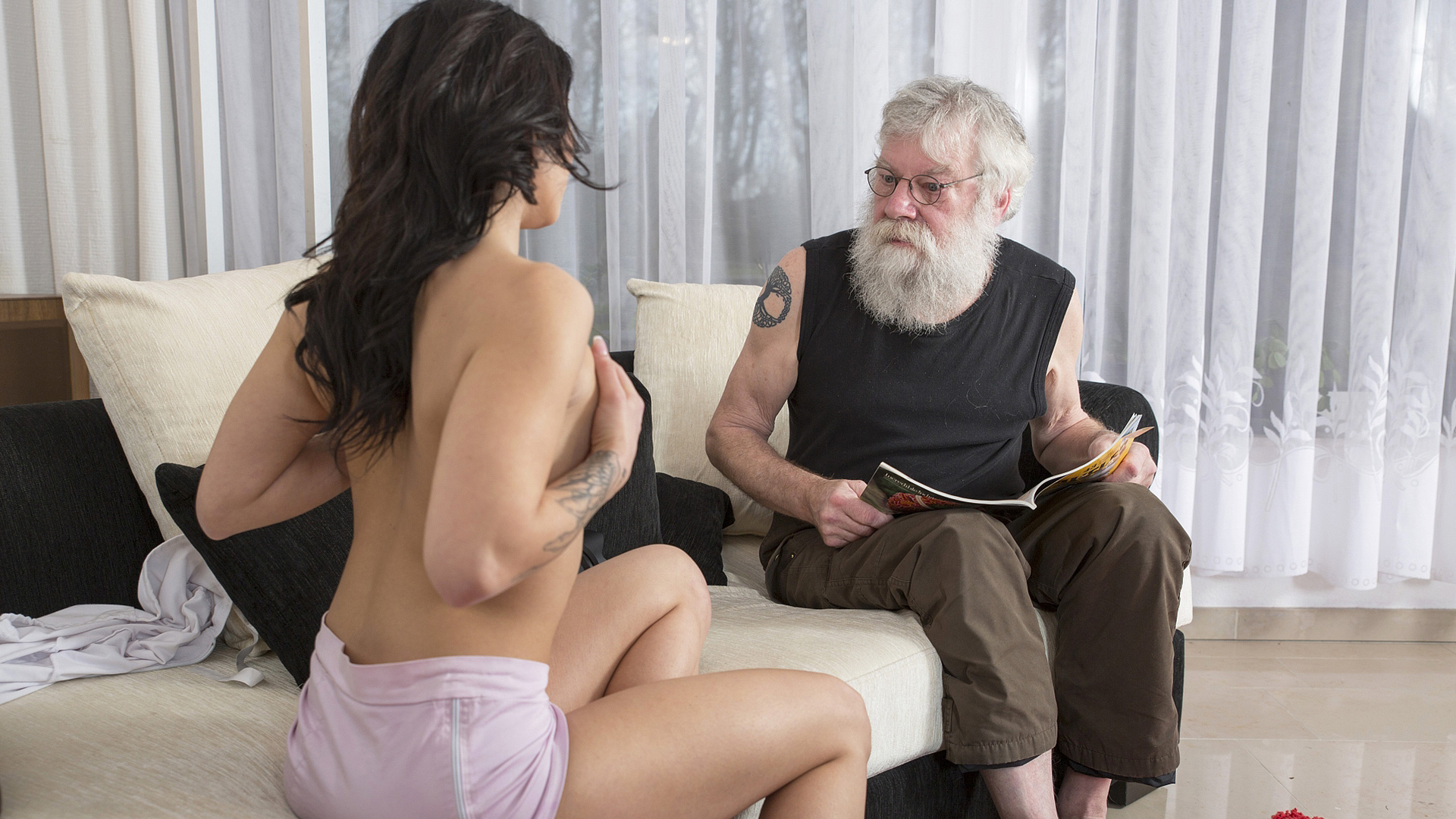 Young Girl Old Man Amateur