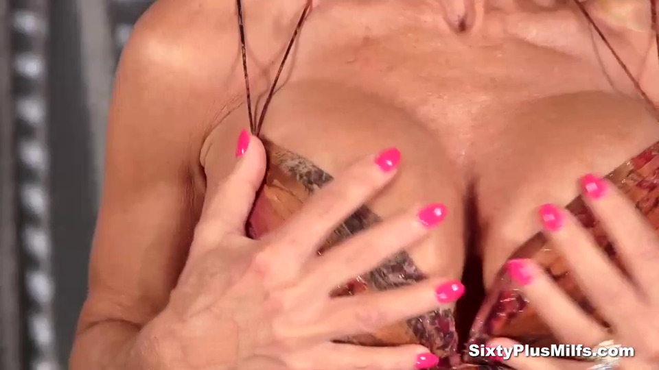 Blonde gets old cunt her fucked busty think, that you