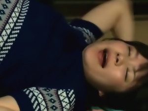 Amazing Japanese teen likes to get hard pounding