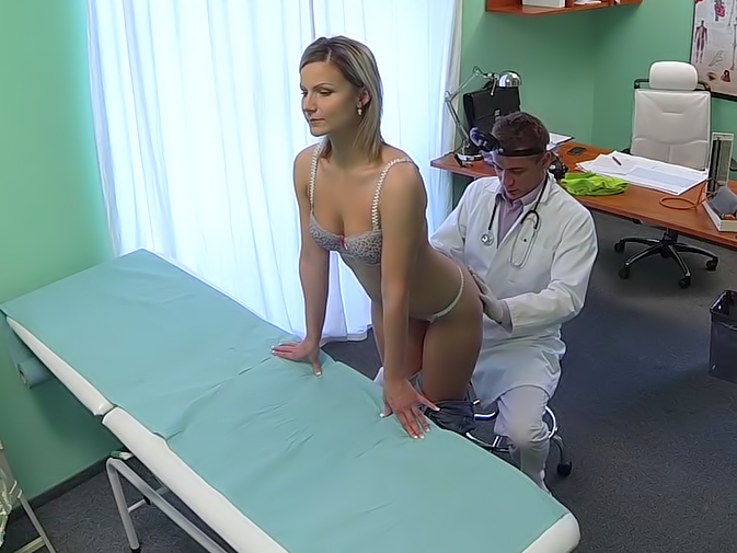 Doctor Blonde - â–· Stunning blonde wants doctor to prescribe his cock/ Porno ...