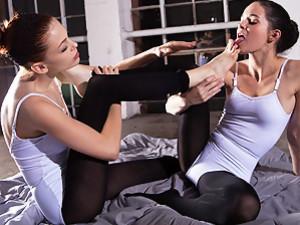 Awesome Ballerina lesbians