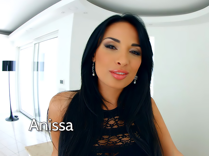 Porn video with Anissa Kate
