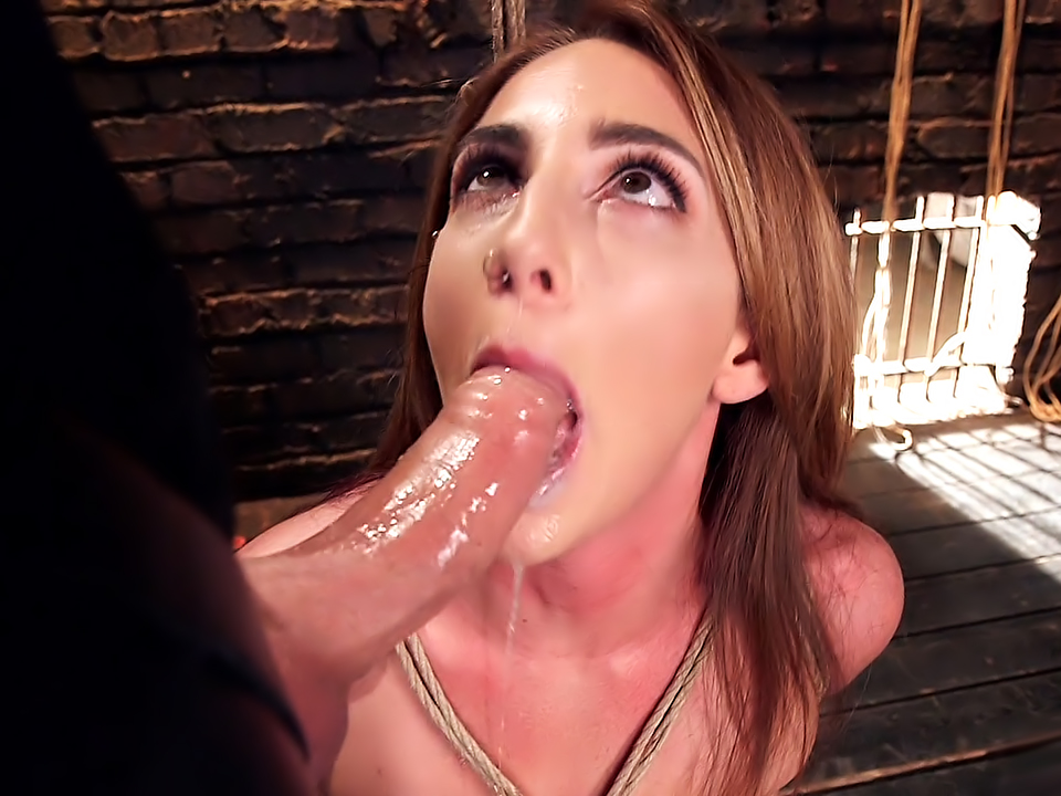 Deep Throat Training Bondage