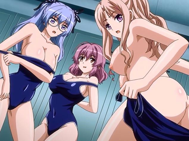 Big titted hentai girls