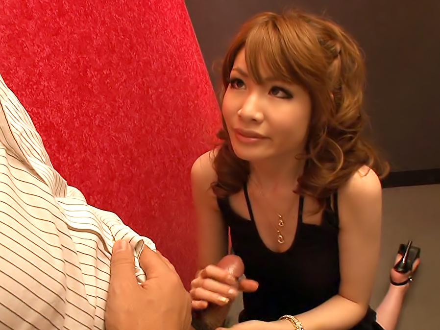 Smoking hot Shiori Amano is a business woman