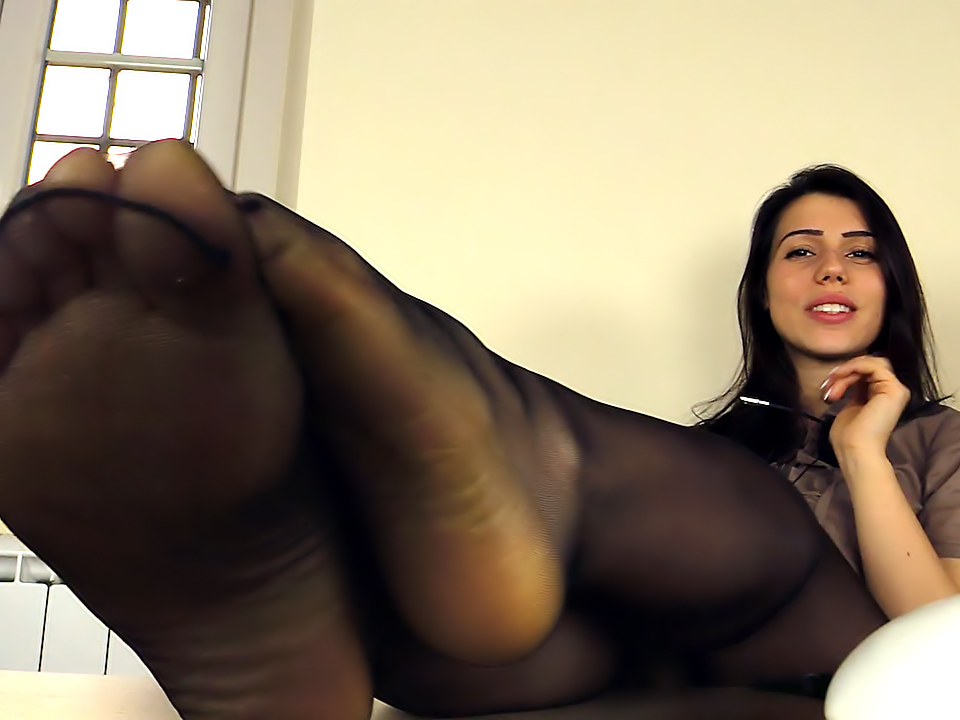 XXX Image Busty roped in nylons