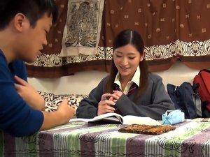 Hot Asian Teen, Urumi Narumi Is Into Hardcore Action And 69