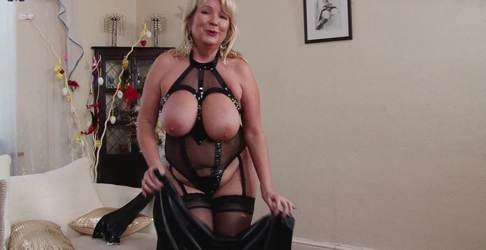British big breasted housewife goes wild