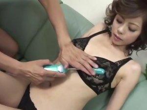 AmateurNatsumi Mitsu swallows after naughty porn play