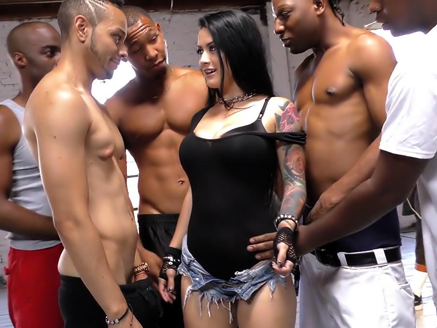 Katrina Jade By Interracial Blowbang