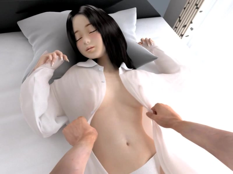 3D Porn with cute Japanese girl