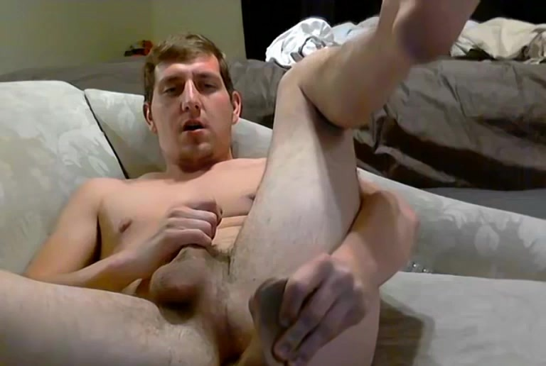 Wyatt Takes A Big Dildo - Wyatt Blaze