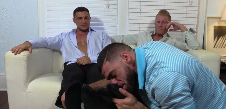 Ricky Worships Johnny and Joey's Feet - Johnny/Joey
