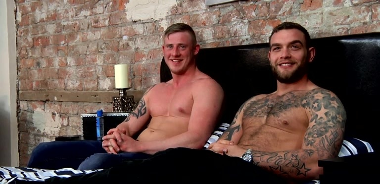Straight Mates Shared Wank - Andy Lee And Liam Lawrence