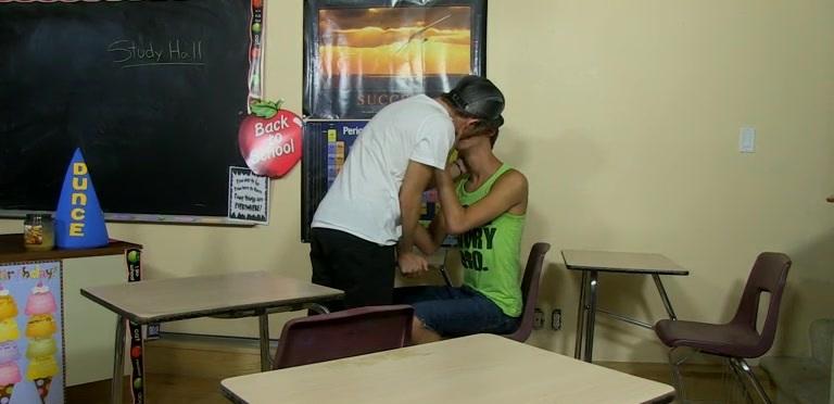 Study Hall Schoolboy Sex Fantasies! - Jordan Thomas And Ryker Madison