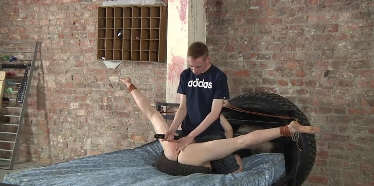 A Well Used Twink Hole! - Harry Jordan And Ashton Bradley