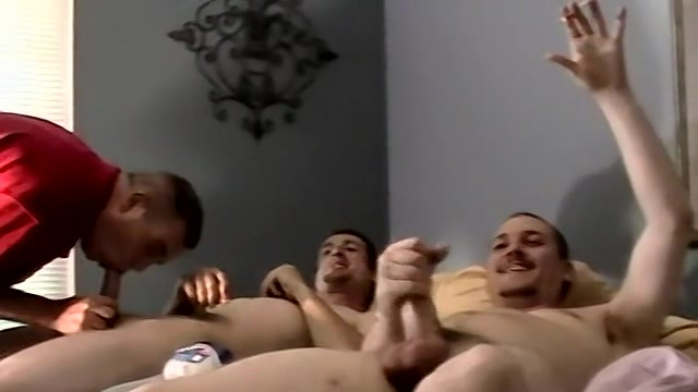 A Str8 Boy Cum Shot Party - Jersey, Brian And Blaze