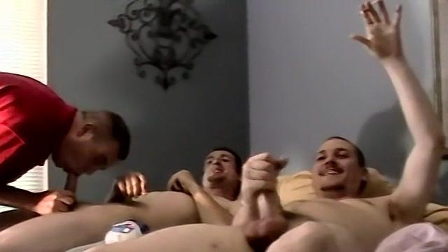 A Str8 Boy Cum Shot Party - Jersey, Brian And Blaze