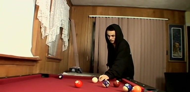 Straight, Naked, Pool Playing, Masturbation - Wiley
