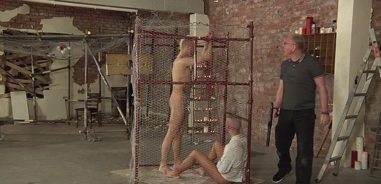 Hardcore Prisoner Abuse - Deacon Hunter, Kenzie Mitch And Sebastian Kane
