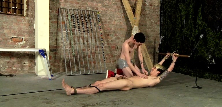 Pegged And Face Fucked! - Rhys Casey And Scott Williams