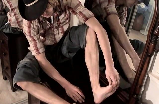 Country Boy Cock Stroking - Carl Alexander