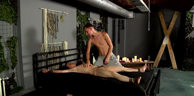Poor Cristian Made To Cum - Cristian Martin And Reece Bentley