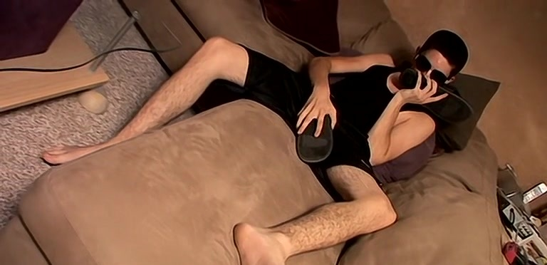 Barefoot Boy Rad On The Couch - Rad Matthews