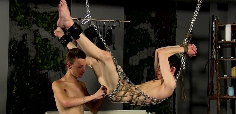 Butt Stretching For Aaron - Aaron Aurora And Reece Bentley