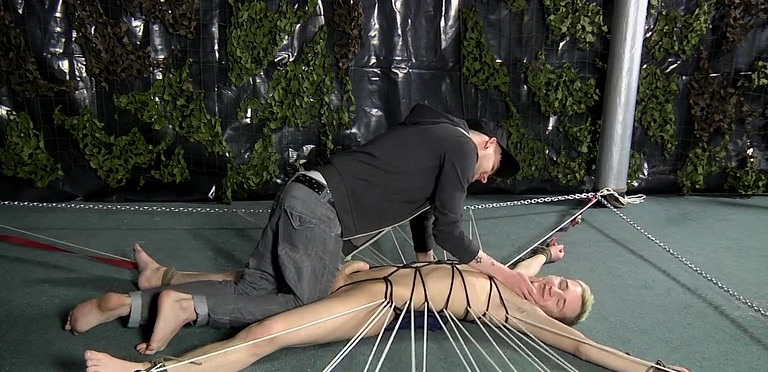 Adam Rides A Prisoner Cock - Reece Bentley And Adam Watson