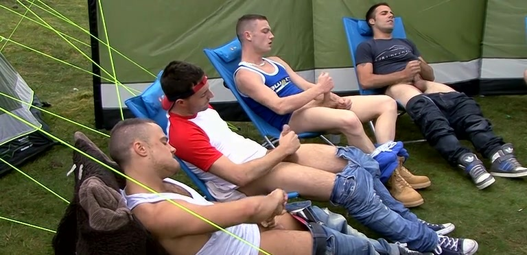 Bonding With A Group Wank - Kai, Fraser, Bradley, Josh, Matt And Riley