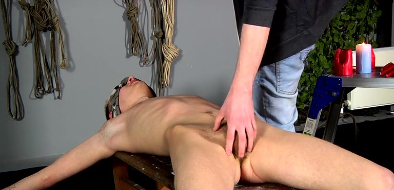 Reece Gets Waxed And Fed - Reece Bentley And Adam Watson