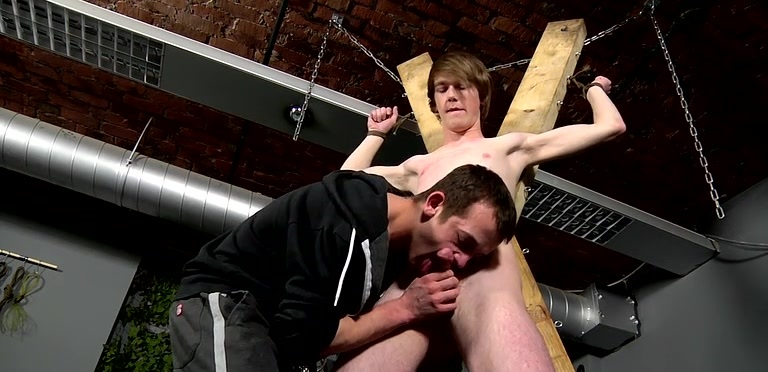 Twink Kai Gets Pegged By Dan - Kai Alexander And Dan Jenkins